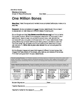 One Million Bones