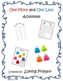 One More/One Less Activities