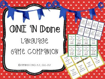 One 'N Done Language Mats