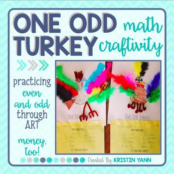 Thanksgiving Math Craft: Even and Odd