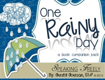 One Rainy Day: A (Mostly) No Print Book Companion Pack!