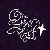 One Starry Night Font for Commercial Use