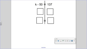 One Step Equation Practice