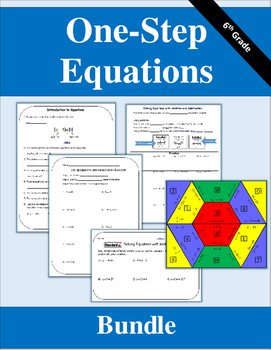 One-Step Equations Bundle