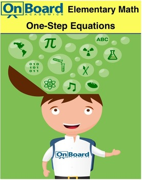 One-Step Equations-Interactive Lesson