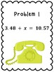 One Step Equations Telephone