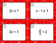 One Step Inequalities Task Cards