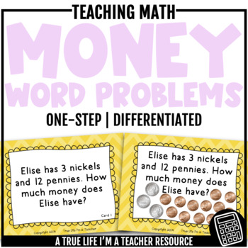 One-Step Money Word Problems {CC 2.MD.8}