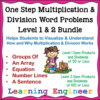 Multiplication Word Problem (Math Problem Solving) Divisio