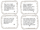 One Step Story Problem Task Cards