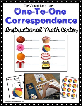 One To One Correspondence Instructional Math Center for Sp