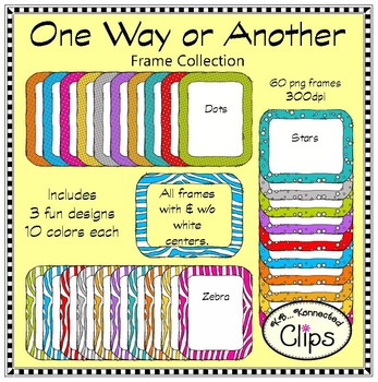 One Way or Another Frame Collection