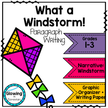One Windy Day Paragraph Narrative Writing