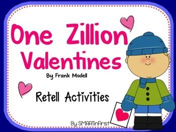 One Zillion Valentines Retell Activities