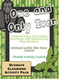 One and Only Ivan Guided Reading Pack