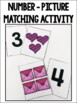 Counting & One-to-One Correspondence Activities {Valentine