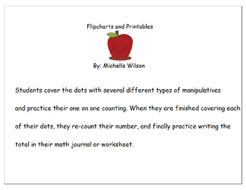 One-to-one correspondence counting papers