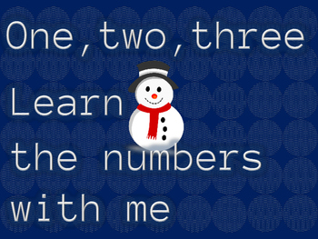 One,two,three-Learn the Numbers With Me