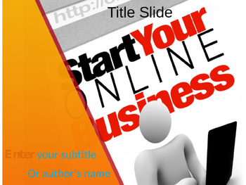 Online Business PowerPoint Template