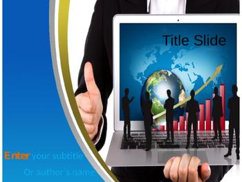 Online Marketing PowerPoint Template