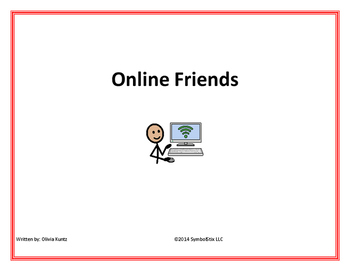 Online Safety Social Story