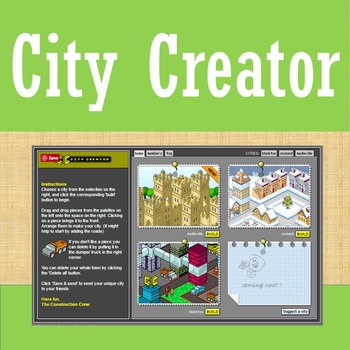 Online Tools - City Creator - Architecture Planning