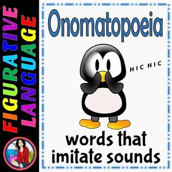 Onomatopoeia Center Activity, Figurative Language