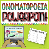 Onomatopoeia PowerPoint Lesson