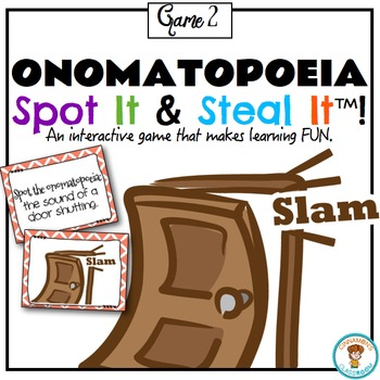 Onomatopoeia Spot It & Steal It Game #2