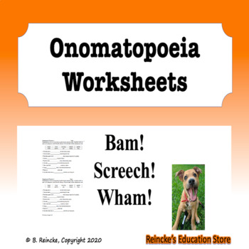 Onomatopoeia Worksheets (5)