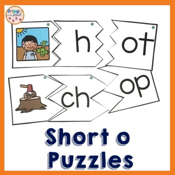 Onset and Rime Build a Word Puzzles- o word families and s