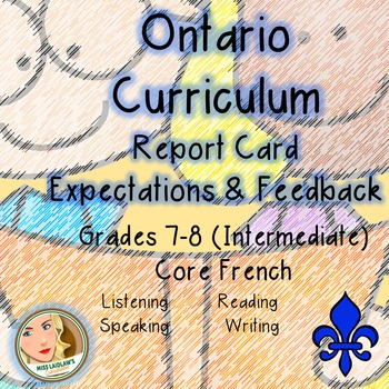 Ontario Curriculum Expectations Checklist - Core French (I