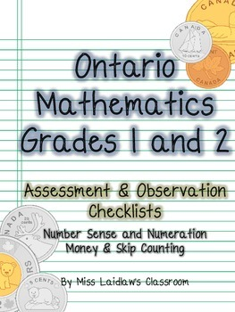 Ontario Grades 1/2 - Money + Skip Counting - Observation,