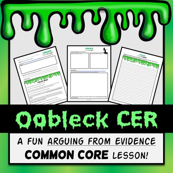 Oobleck CER (States of Matter Lab)