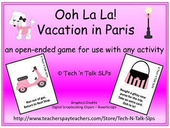 Ooh La La!  Vacation in Paris