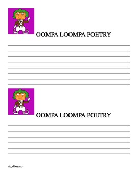 Oompa Loompa Poetry (Charlie and the Chocolate Factory)