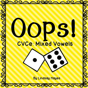 Oops: A CVCe Mixed Vowels Game
