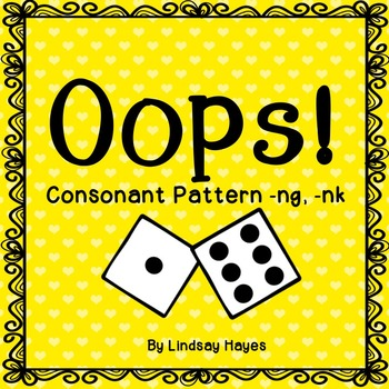 Oops: A Consonant Pattern -ng, -nk Game, Reading Street Un