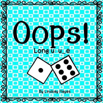 Oops: A Long u: u_e Game, Reading Street Unit 2, Week 5