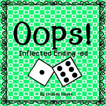 Oops: An Inflected Ending -ed Game, Reading Street Unit 2, Week 5