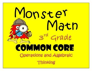Opeations and Algebraic Thinking - Monstrous Math Game for