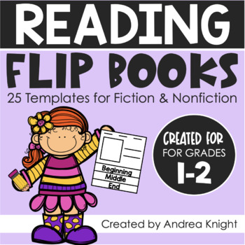 Open-Ended Flip Books:  25 Templates for Fiction and Nonfi
