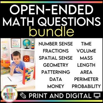 Open-Ended Math Questions {BUNDLE}