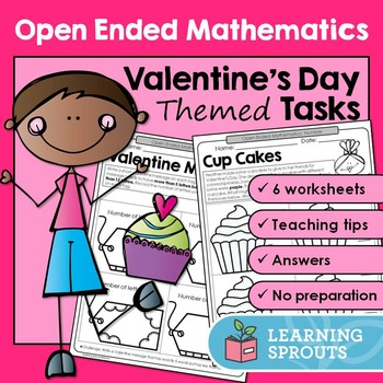 Open Ended Mathematics: Valentine's Day Themed Tasks
