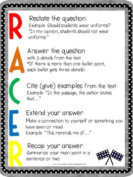 Text Evidence RACE Strategy by Everyone Deserves to Learn ...