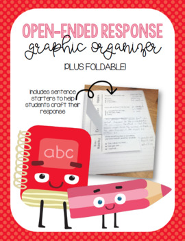 Open-Ended Response Graphic Organizer and Foldable