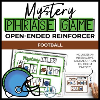 Open Ended Seasonal Tile Game: Football Theme