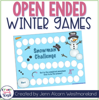 Open-Ended Winter Games!