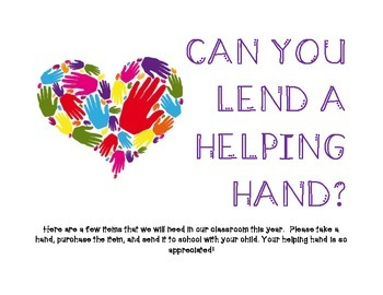 Open House Donations * Helping Hand