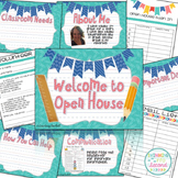 Open House Editable Powerpoint (with printable forms)